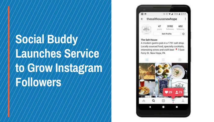 Social Buddy Launches Service to Grow Instagram Followers
