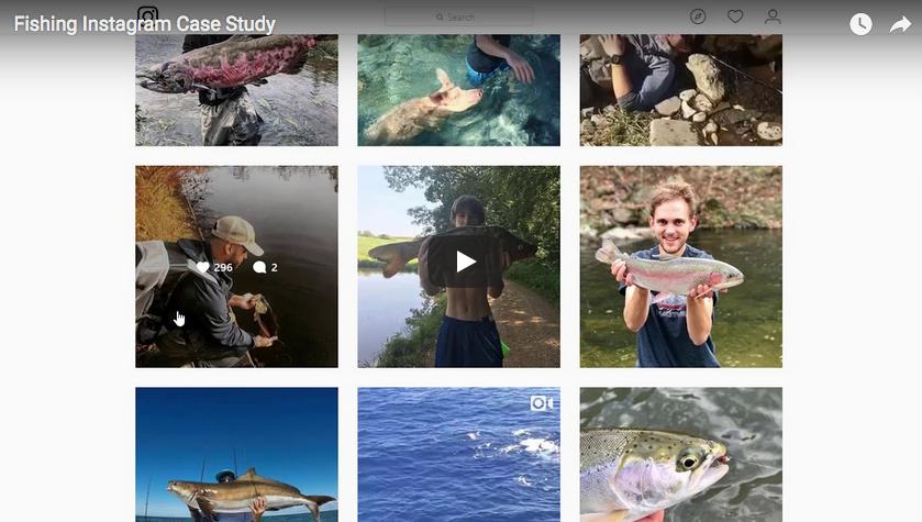Fishing Instagram Case Study