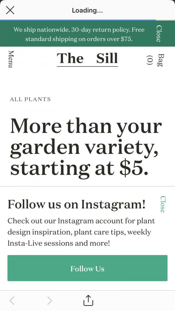 insta story ads