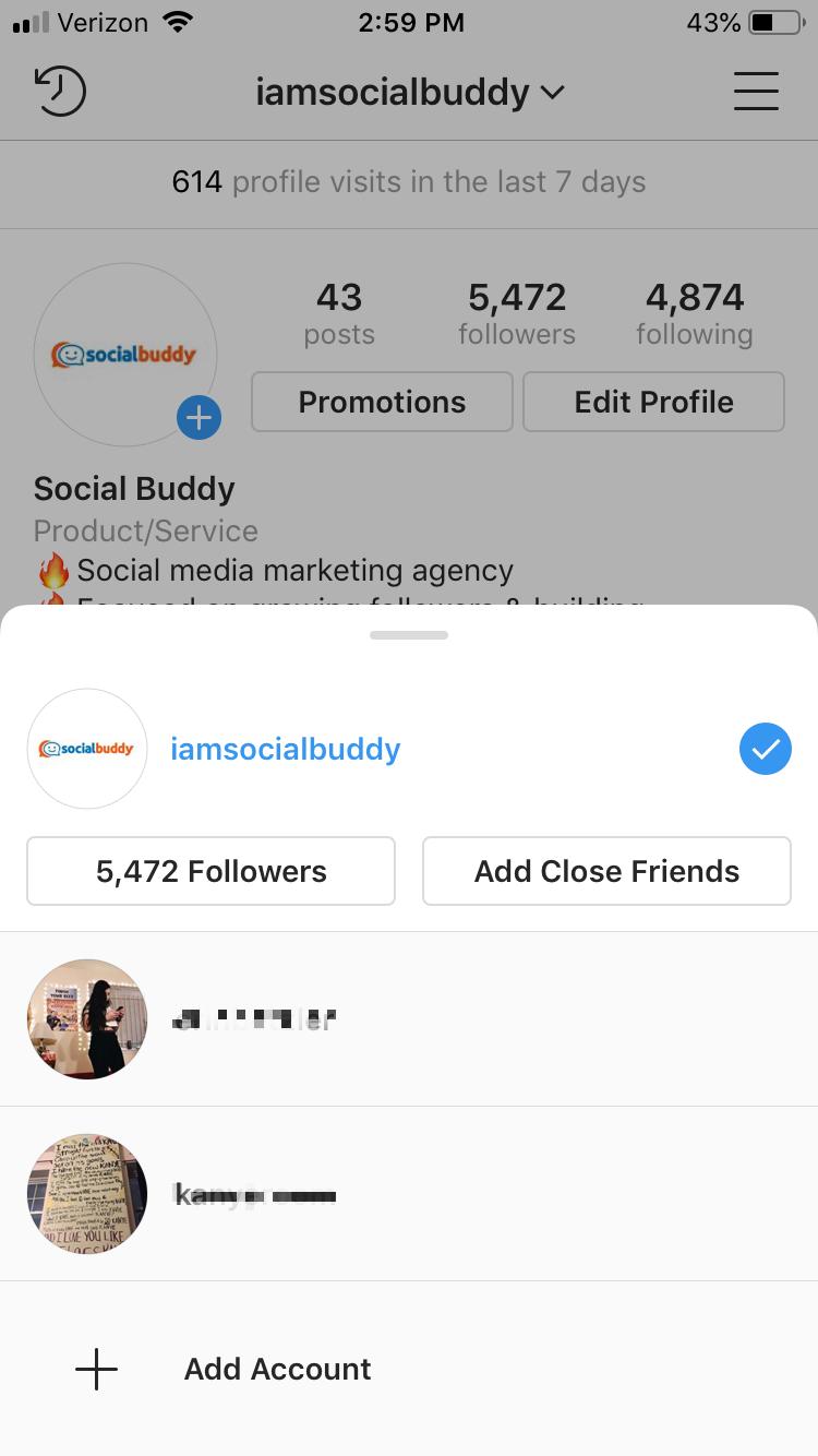 second instagram