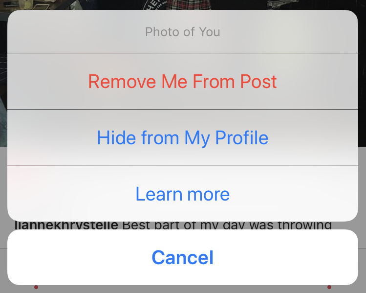 how to untag on instagram
