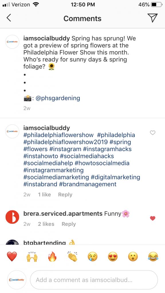 hide hashtags